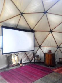 Interior de un domo